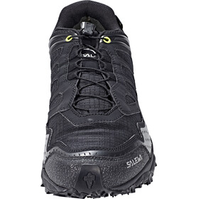 Salewa Ultra Train GTX Shoes Men Black/Swing Green